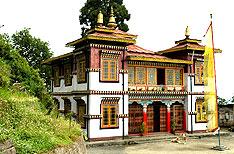 Bhutia Busty Gompa Darjeeling Travel Vacations Uttaranchal India