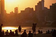 Chowpatty Mumbai Beach Holidays Maharashtra
