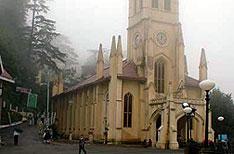 Christ Church Shimla Travels and Tours Himachal Pradesh