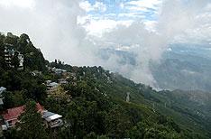 Honeymoon  in Darjeeling Uttaranchal India