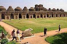 Elephant Stables Hampi Holiday Vacations Karnataka India