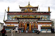 Ghoom Monastery Darjeeling Travel Packages Uttaranchal India