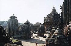 Lingaraja Temple Bhubaneswar Travel and Tours Orissa India