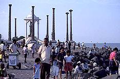 Pondicherry Beach Travel Tamil Nadu