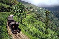 Toy Train Darjeeling Holiday Vacations Uttaranchal India