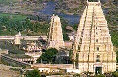 Virupaksha Temple Hampi Travel and Tours Karnataka India